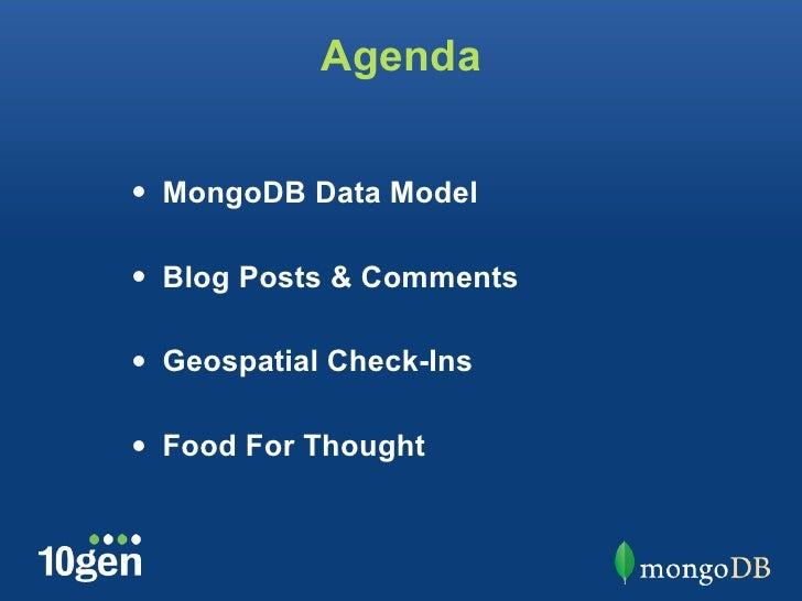 Schema Design by Example ~ MongoSF 2012 Slide 2