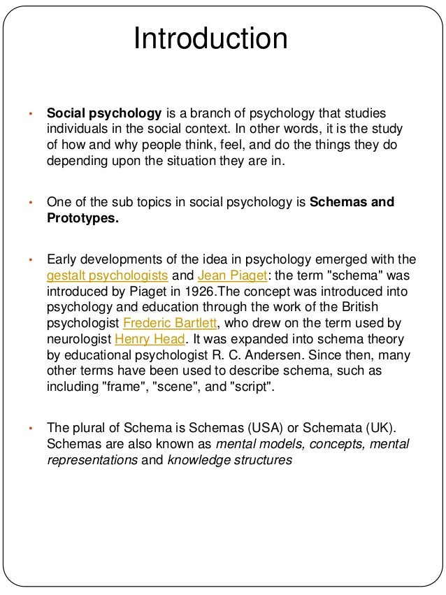 schemas psychology and social cognition Social cognition is the area of social psychology that examines how people perceive and think about their social world this module provides an overview of key topics within social cognition.
