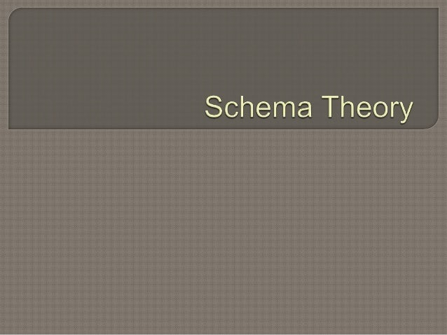 Schema describes both mental and physical actions involved in understanding and knowing. Schemas are knowledge that help ...