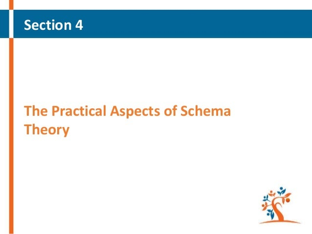 Section 4  The Practical Aspects of Schema Theory