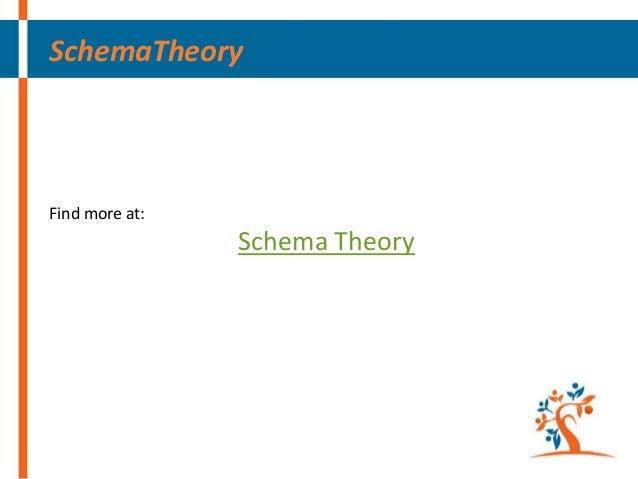 SchemaTheory  Find more at:  Schema Theory