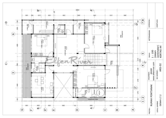 Schematic design 2stories house
