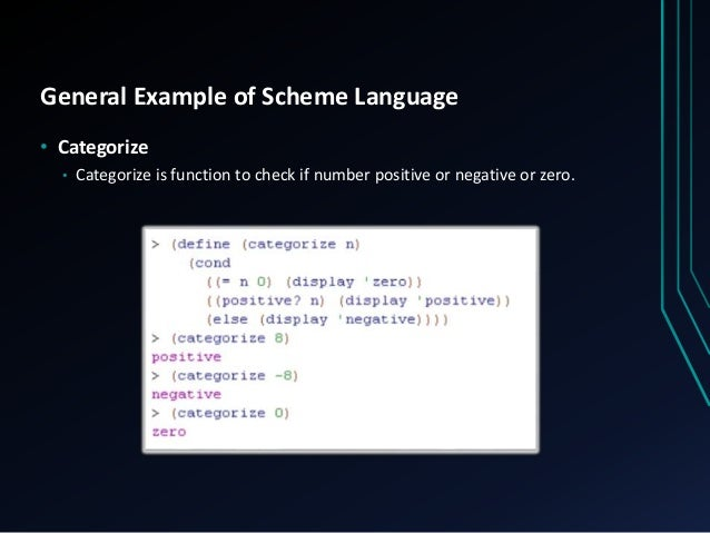 an examination of the scheme programming language Scheme of work - week by week   introduction to the chosen programming language and its  revision and preparation for internal examination.