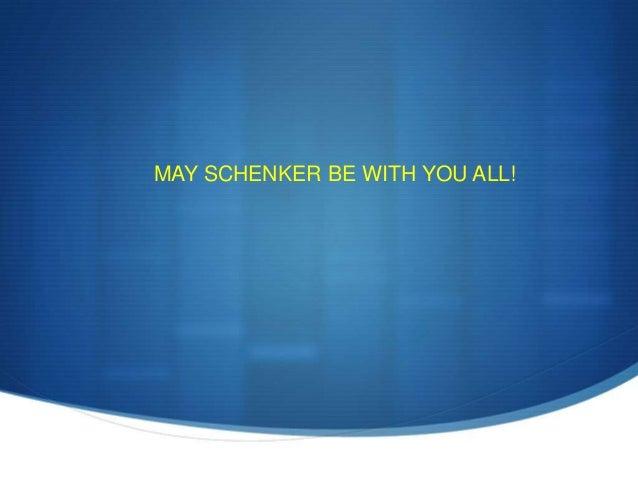 Schenker presentation
