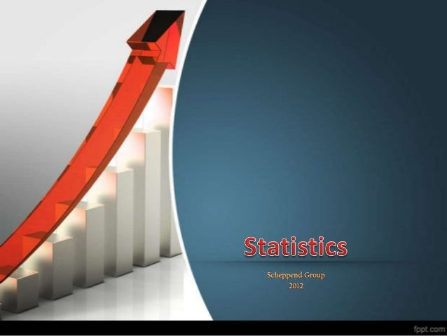 Statistics DefinitonStatistics is a study or scientific method of collecting, organizing,  processing, presenting, and ana...