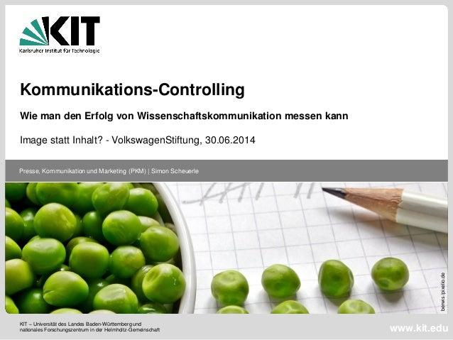 KIT – Universität des Landes Baden-Württemberg und nationales Forschungszentrum in der Helmholtz-Gemeinschaft Presse, Komm...