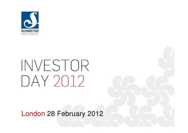 London 28 February 2012