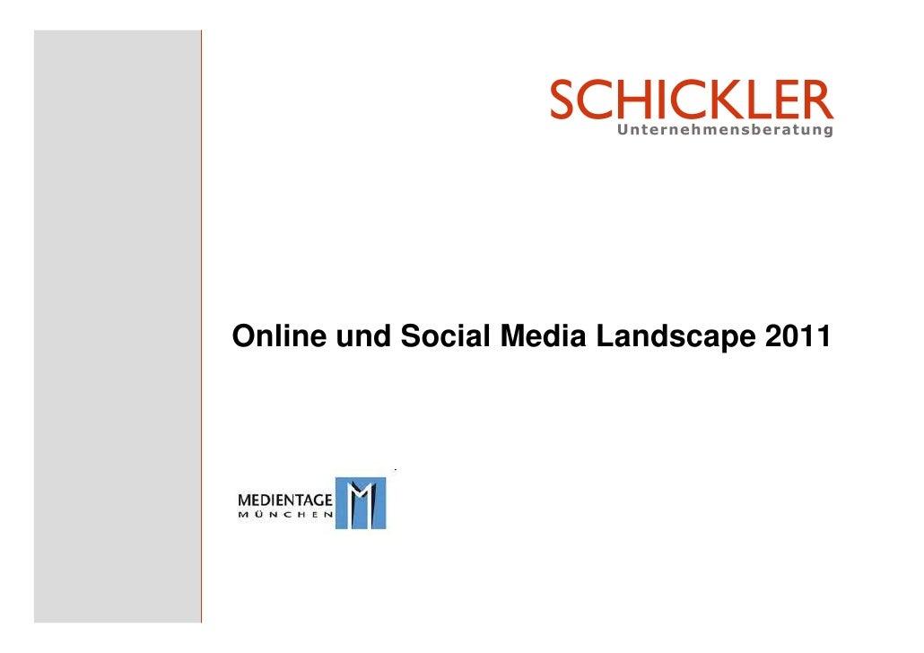 Online und Social Media Landscape 2011