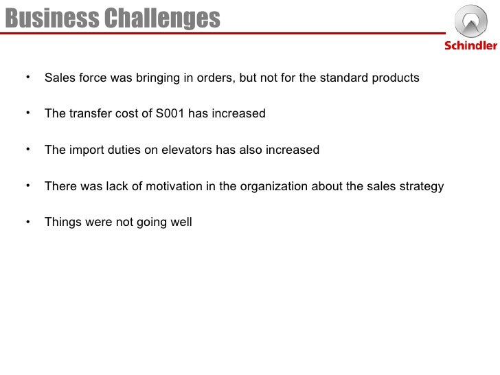 porters five forces silvio napoli at schindler india Silvio napoli at schindler india strategic management case study assigned by-  dr tarun dhingra swot strengths  portor's 5 forces 4.