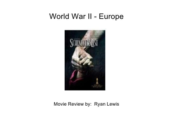 World War II - Europe Movie Review by:  Ryan Lewis