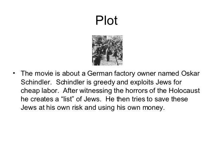 schindlers list movie summary