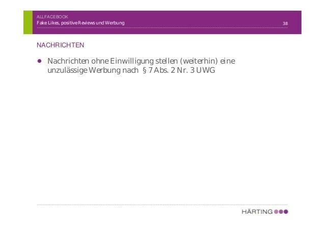 HÄRTING Rechtsanwälte Chausseestraße 13, 10115 Berlin | Tel. +49 30 28 30 57 40 | Fax. +49 30 28 30 57 44 | www.haerting.d...