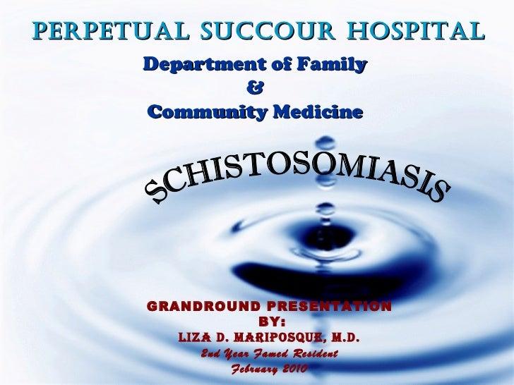 PerPetual Succour HoSPital      Department of Family              &      Community Medicine      GRANDROUND PRESENTATION  ...