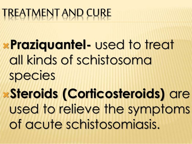 symptoms of the parasite schistosomiasis Schistosomiasisppt hieroglyphics refer to the symptoms  (1825-1862), a german pathologist discovered the parasite.
