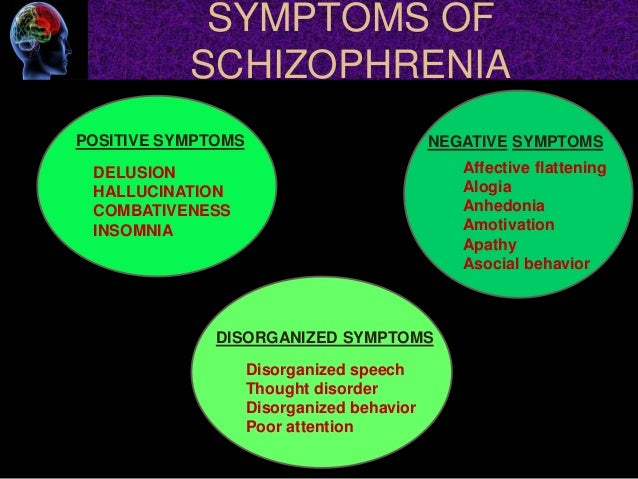 the traits and diagnosis of schizophrenia The top 10 signs of schizophrenia are: lack of insight or awareness of the schizophrenia symptoms kids' personality traits tied to later political leanings 5.
