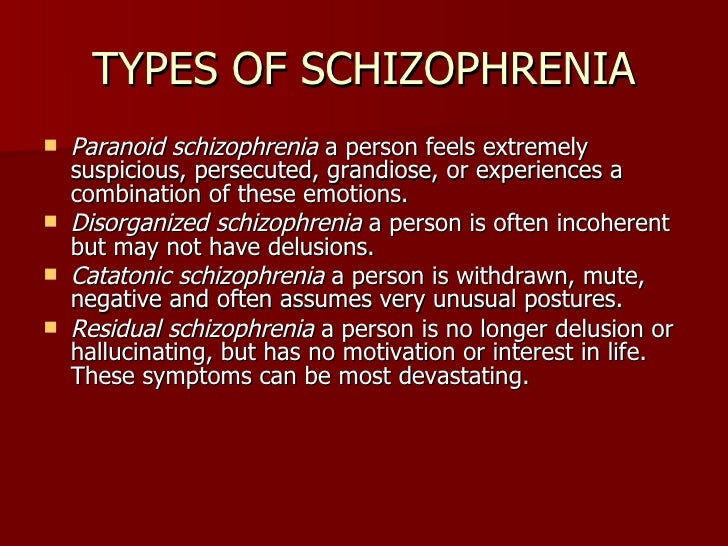 issues related the classification of schizophrenia