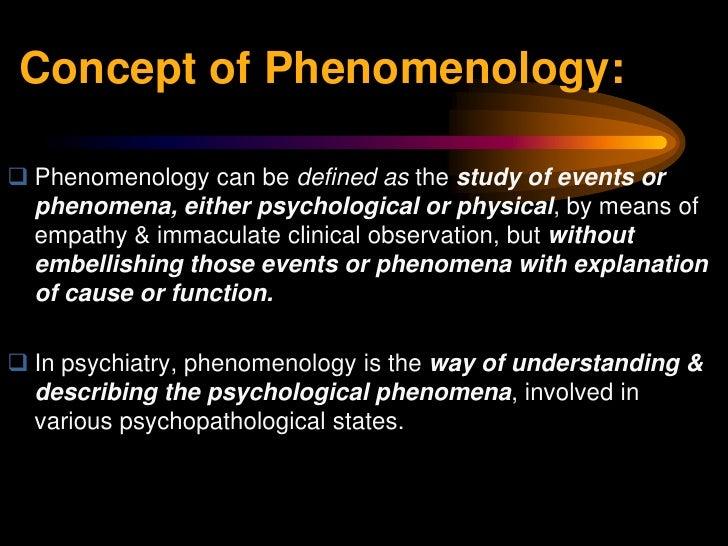Phenomenology in the heideggerian sense philosophy essay