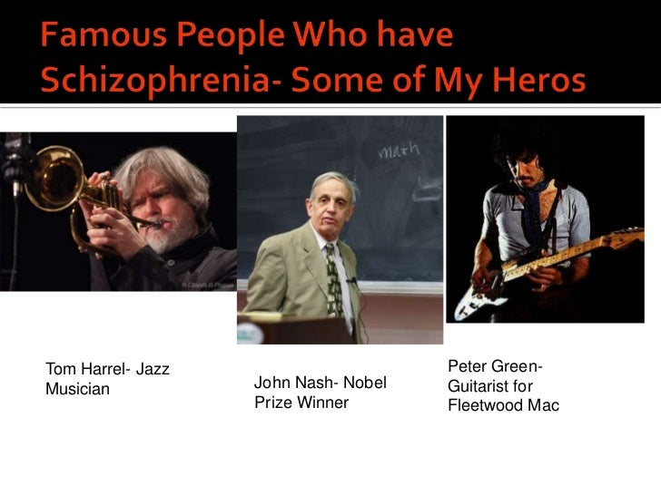 Famous People with Schizotypal Personality Disorder - HRF