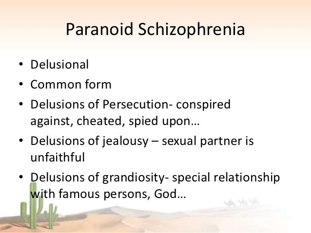 A Case Study on Schizophrenia