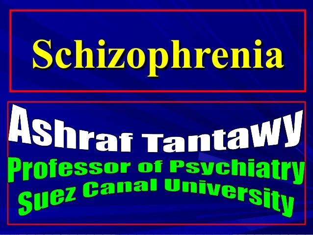 SchizophreniaSchizophrenia