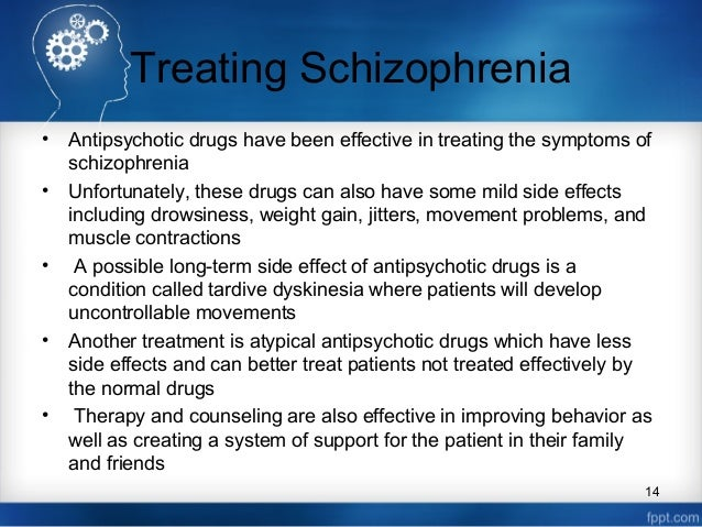 the definition of schizophrenia Schizophrenia is a chronic brain disorder that affects less than one percent of the us population when schizophrenia is active, symptoms can include delusions, hallucinations, trouble with thinking and concentration, and lack of motivation.