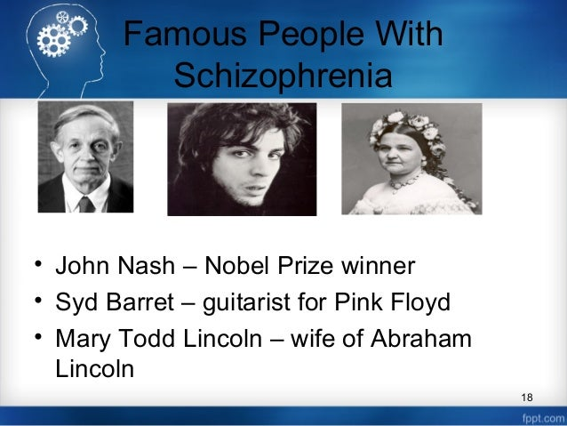 Brilliant, successful and living with schizophrenia