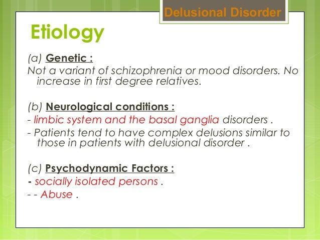 Cause of schizophrenia