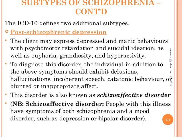 schizophrenia and client This assessment is a prime resource for clinicians working with clients who have a schizophrenic disorder it allows the ot to understand their client's self-perception of their current functional level the copm was developed in 1991 and is used around the world and has been translated in more than.