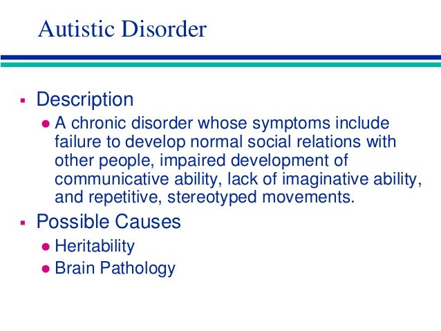 Schizophrenia autism etcl-1_sl