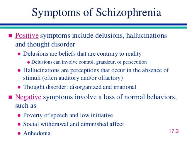a discussion on the different causes of paranoia The signs of schizophrenia are different for everyone they help to reduce the biochemical imbalances that cause schizophrenia and decrease the paranoia and.