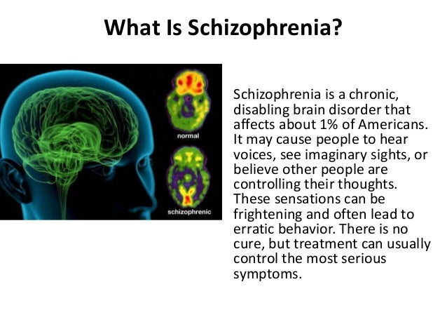 causes and treatments of schizophrenia essay