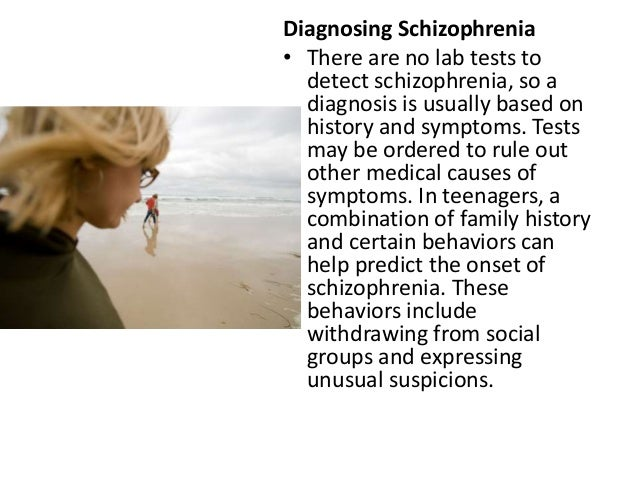 the history and effects of schizophrenia What are treatments for schizophrenia and the side effects of  its symptoms have been described throughout written history schizophrenia is considered to be.