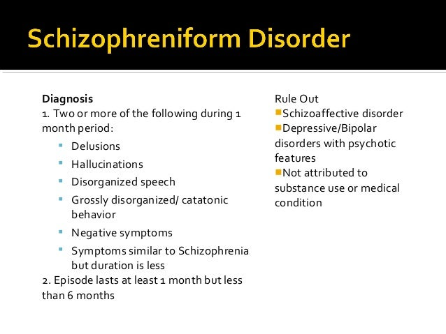 Schizophrenia Spectrum Other Psychotic Disorders For Ncmhce Study