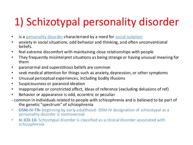 schizophrenia dating
