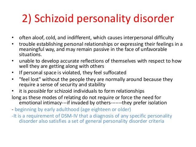 Aloof personality