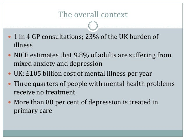 initial treatment of depression in adults