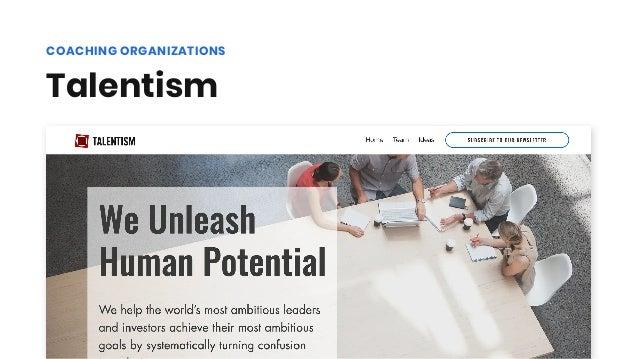 Talentism COACHING ORGANIZATIONS