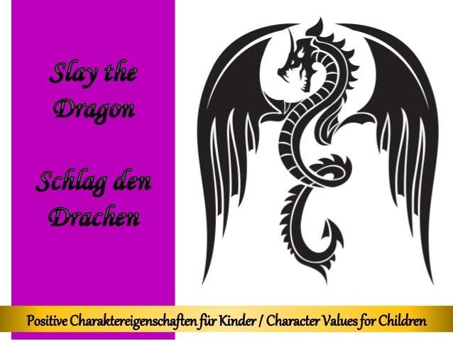 PositiveCharaktereigenschaftenfürKinder/ CharacterValuesfor Children