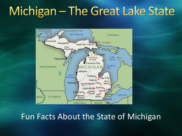 Fun Facts About the State of Michigan