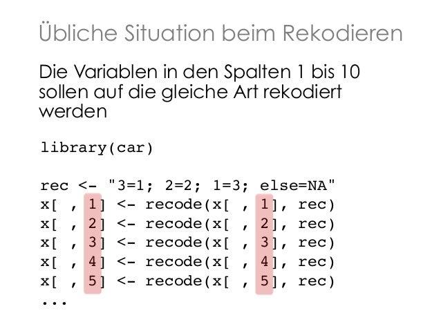 Schleifen in R Slide 2