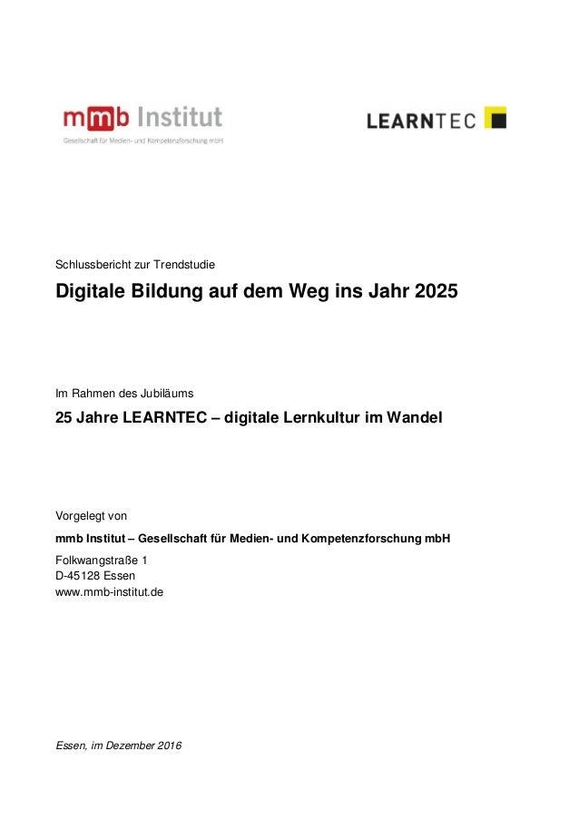 Schlussbericht studie im-rahmen-der-25.-learntec