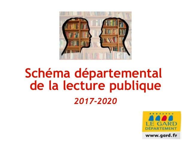 Schéma départemental de la lecture publique 2017-2020