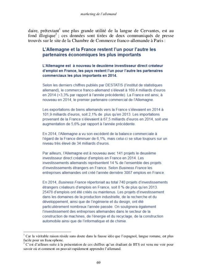 Promotion de l 39 allemand - Chambre de commerce franco americaine paris ...