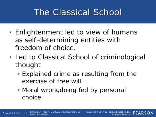 Classical school criminology essays