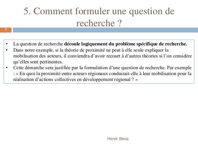 Exemple De Problematique Et Hypothese Pdf - Exemple de Groupes