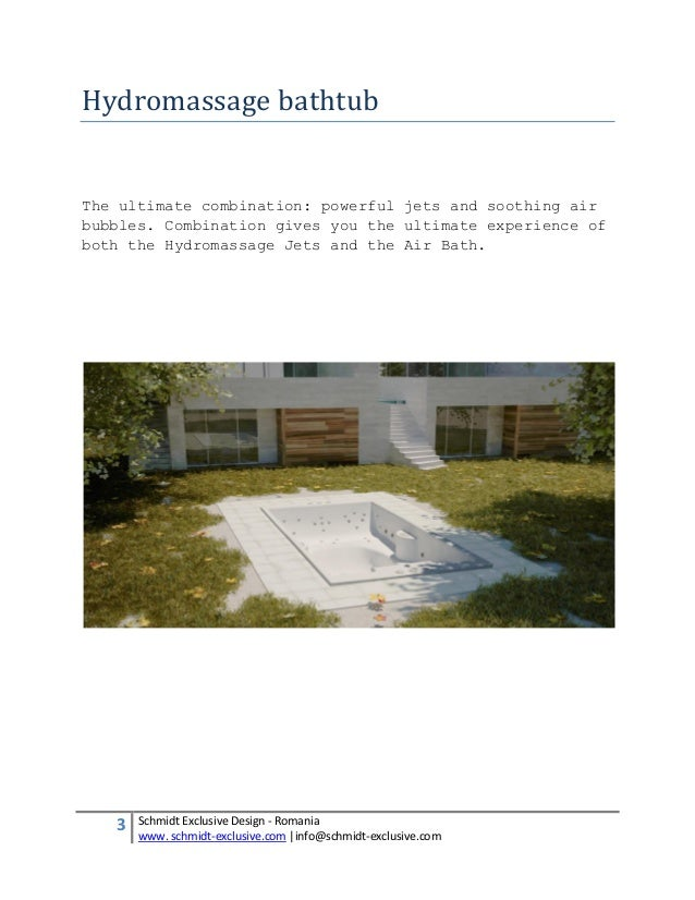 Hydromassage Tubs - Hydrotherapy Spa Baths - Therapeutic Jacuzzi Tubs