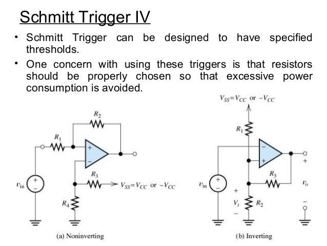 schmitt trigger circuit. Black Bedroom Furniture Sets. Home Design Ideas