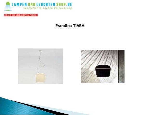 Schöne design und stilvolles prandina leuchten   lampen und leuchten-shop Slide 2