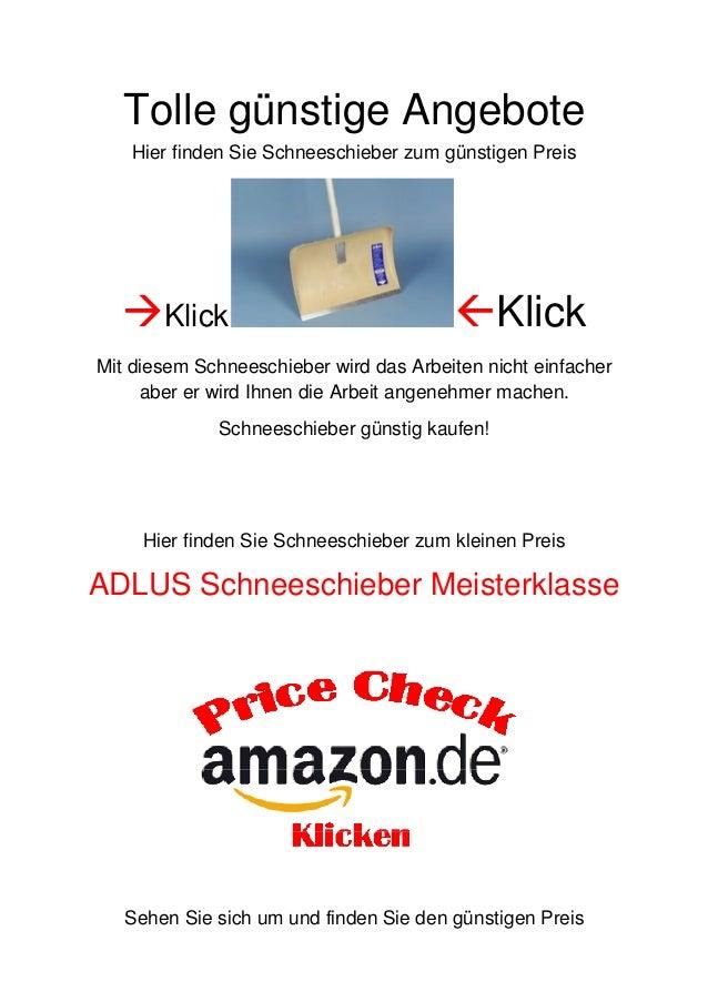 Tolle günstige Angebote Hier finden Sie Schneeschieber zum günstigen Preis  Klick  Klick  Mit diesem Schneeschieber wird...