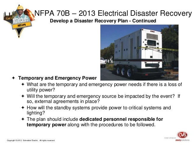 preparing your electrical system for disaster recovery